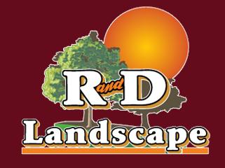 R&D Landscaping logo